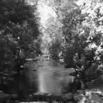 """Boulder Creek in Black and White #6"" by davidflurkey"