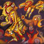 """Pop Precolumbian God of the Birds"" by Gaucho"