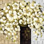 """""""white_blossoms"""" by modernhouseart"""