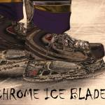 """Chrome Ice Blades"" by karolsstuff"