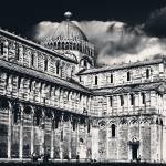 """A Black and White Pisa"" by LFK797"