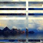 """Island of Nowhere Window Abstract"" by Attentiongetters"