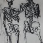 """Double skeleton study"" by TiffanyPage"