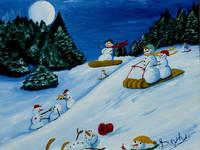 Snowmans Winter Sports