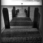 """""""Aberystwyth Walkway B&W"""" by Yagoobian"""
