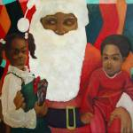 """Black Santa"" by amiranajahw"