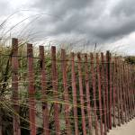 """Beach Fence"" by hockmanphotography"