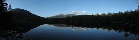 Lonesome Lake Panorama
