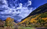 Vail Golf Course In Autumn