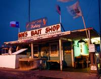 Bait shop Texas