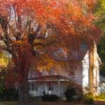 """old country house in fall"" by michaelcarlucci"