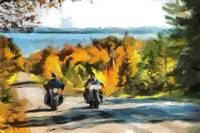 Motorcycle color tour