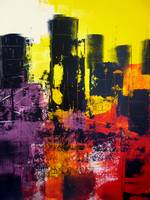City Scape - Abstract Acrylic