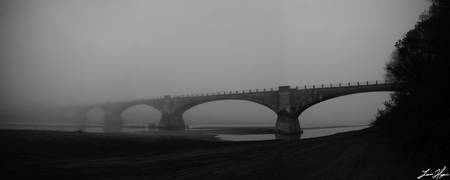Fernbridge in the Fog - Panoramic