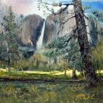 """Upper Yosemite Falls, Yosemite Ca"" by wholehearted1"