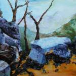 """Blue Ridge Parkway #2"" by ArtByDianeKraudelt"