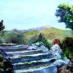 """Blue Ridge Parkway #1"" by ArtByDianeKraudelt"