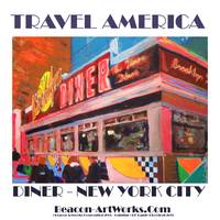 Travel America New York City Art