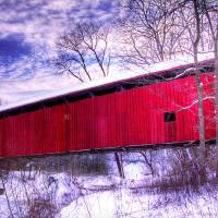 Covered Bridge Art Prints & Posters by Chris Thompson