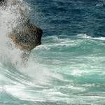 """Waves Crash"" by northernfoto"