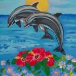 """""""Dolphins"""" by elajanus"""