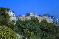 Athenian Acropolis from Philopappou Hill, 2003 10