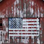 """American Flag on Barn"" by ahoymatey"