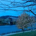 """""""Suspension Bridge in Tungsten"""" by bill26003"""