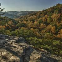 October Up on Conkle's Hollow by Jim Crotty