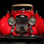"""Red Lagonda Front View"" by wingsdomain"