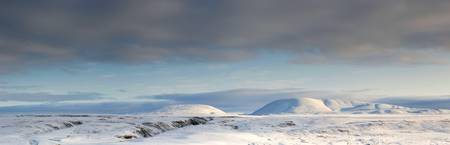 Arctic Mountain Panorama