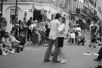 Slow Dancing New Orleans Couple