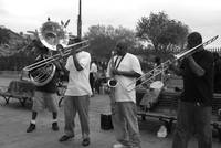 Jazz quartet in New Orleans