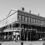 """""""Wrought iron style on buliding in New Orleans"""" by ShutterbugCentral"""