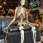 """Skeleton drives carriage in New Orleans store"" by ShutterbugCentral"