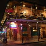 """""""Nightime in old building in New Orleans"""" by ShutterbugCentral"""