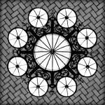 """Chandelier in Great Hall, Ellis Island"" by tinkerhess"