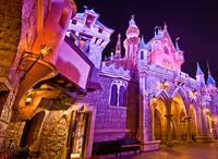 Sleeping Beauty Castle - Rear