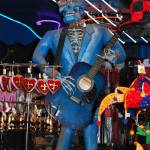 """Blue Skeleton guitar man, New Orleans"" by ShutterbugCentral"