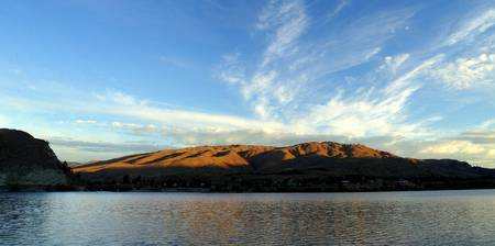 Columbia River Sunrise Panorama
