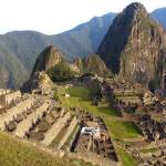 """Machu Picchu from higher point at dawn"" by Maly"