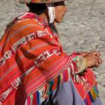 """Colourful Peruvien man in the Sacred Valley"" by Maly"