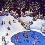 """Tribute to Vince Guaraldi: Winter Fun"" by reniebritenbucher"