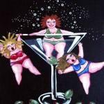 """""""Martini Divas"""" by reniebritenbucher"""