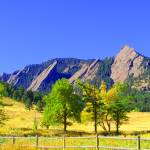 """Flatirons slightly altered"" by davidflurkey"