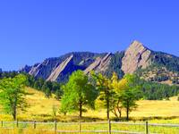 Flatirons slightly altered