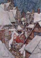 A Visit from Santa Claus by Arthur Rackham