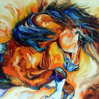 DANCE of the WILD ONE Art Prints & Posters by Marcia Baldwin