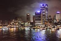 Harbor Lights- Night Sydney, Australia