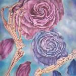 """Life is like a vanishing rose"" by huda-art"